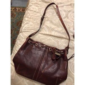 Genuine Leather Etienne Aigner crossbody bag